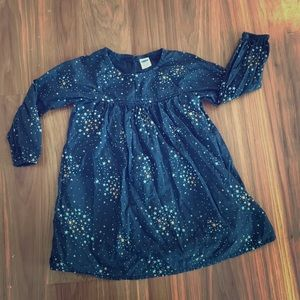 Navy blue with star cluster  Old Navy dress